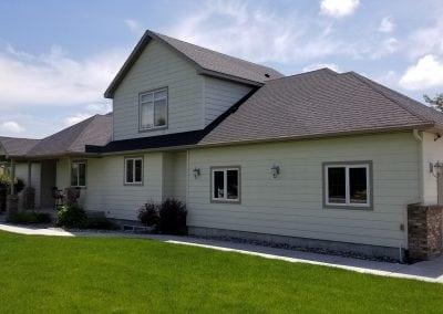 large house siding