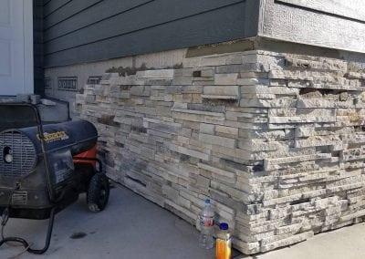 stone siding
